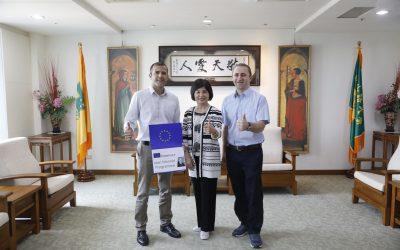 EU Erasmus + Jean-Monnet Module : 1st Time at Wenzao University!